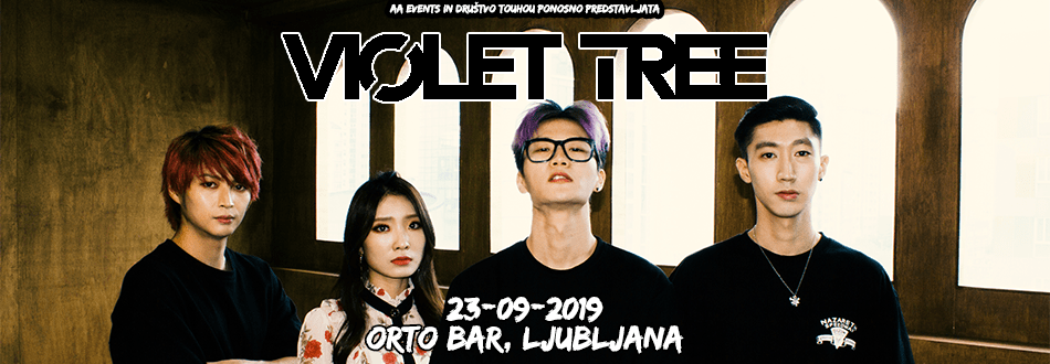 Violet Tree - 23.09.2019 - Orto Bar, Ljubljana