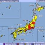 Tudi Japonska pričakuje večjo pošiljko snega