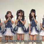 POP idol skupina CLEAR'S pomaga ohranjati čistočo