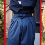 Chinobakama, samurajske hlače s pridihom modernega