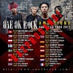 ONE OK ROCK – Ambitions European Tour 2017