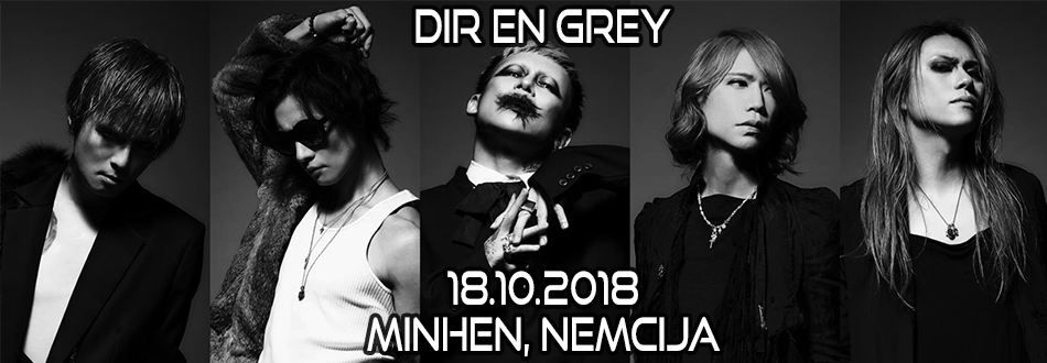 DIR EN GREY - Europe Tour 2018