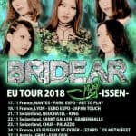 BRIDEAR – Europe Tour 2018