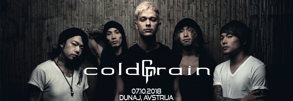 Coldrain - Europe Tour 2018