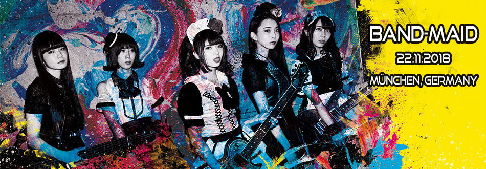 BAND-MAID - Live in Germany