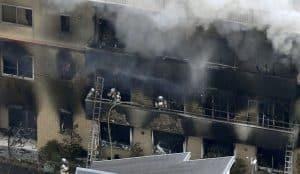 Kyoto Studio Fire