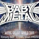 Babymetal – Galaxy World Tour 2020 – 11.02.2020 – Dunaj