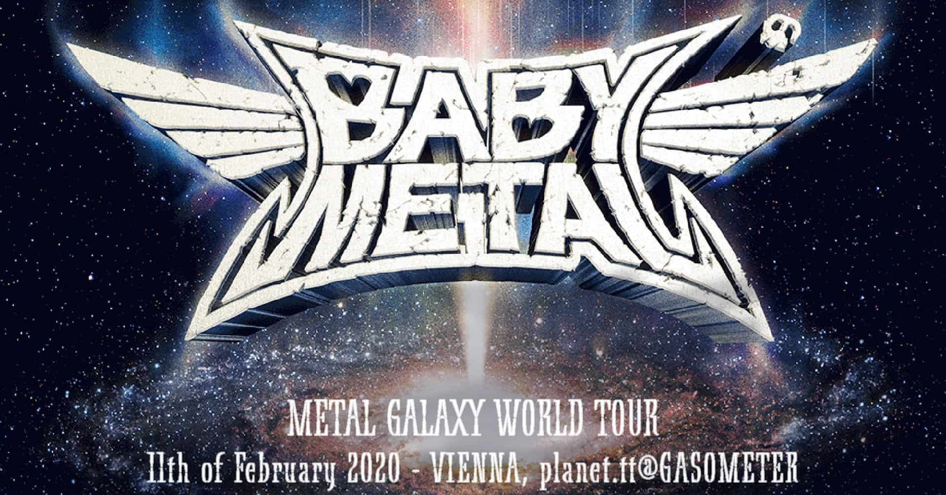 Babymetal – Galaxy World Tour 2020 – 11.02.2020 – Dunaj