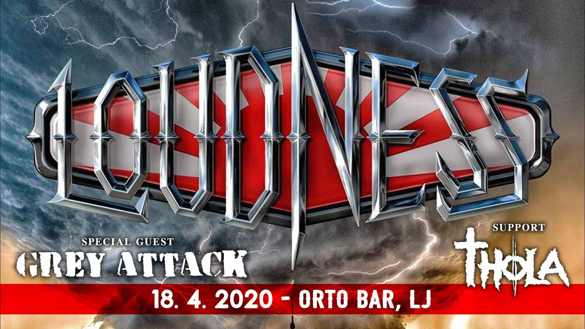 Loudness - 18.04.2020 - Orto Bar, Ljubljana